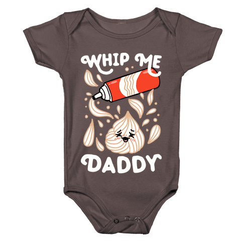 Whip Me, Daddy (Whipped Cream) Baby One-Piece