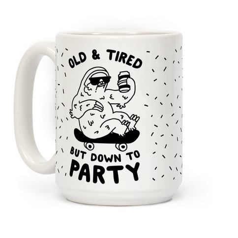LookHUMAN Snooze /& Booze White 11 Ounce Ceramic Coffee Mug