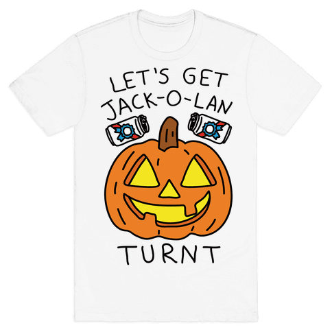 Let's Get Jack-O-Lanturnt Mens T-Shirt
