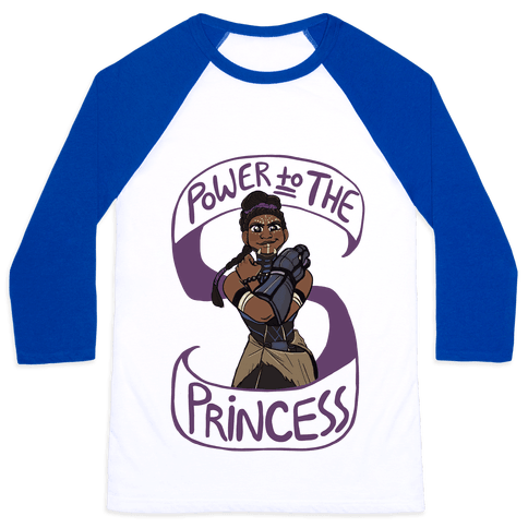 Power to the Princess Baseball Tee