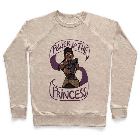 Power to the Princess Pullover