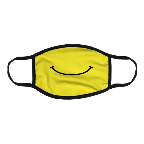 Emoji Mouth Flat Face Mask