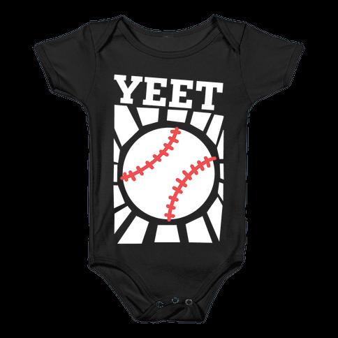 YEET - baseball Baby Onesy