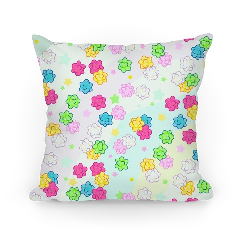 Konpeit Candy Star Pattern Pillow