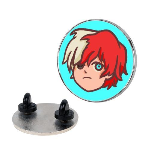 Todoroki Chibi Pin Lookhuman