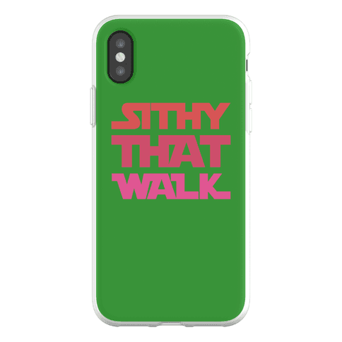 Sithy That Walk Parody Phone Flexi-Case