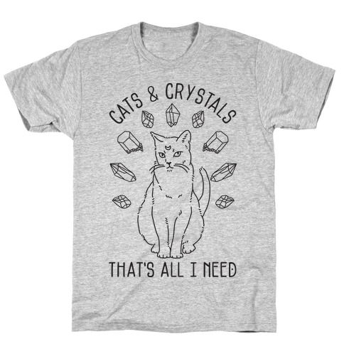 Cats and Crystals T-Shirt