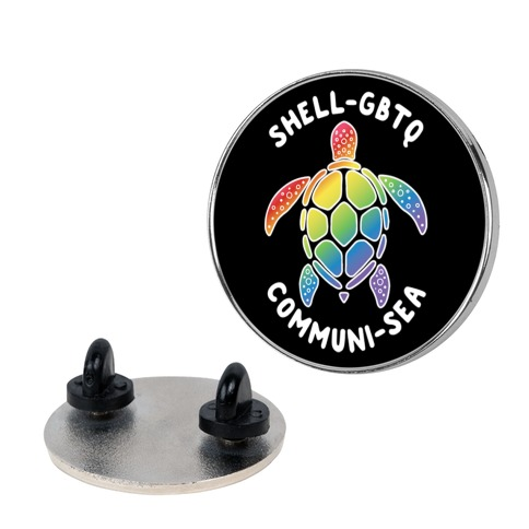 ShellGBTQ Communisea (LGBTQ Turtle) Pin