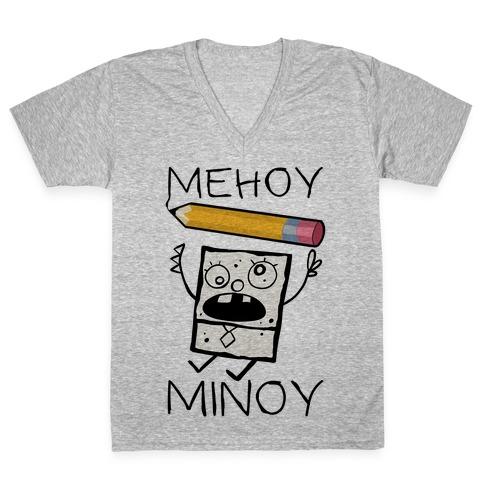 Mehoy Menoy V-Neck Tee Shirt