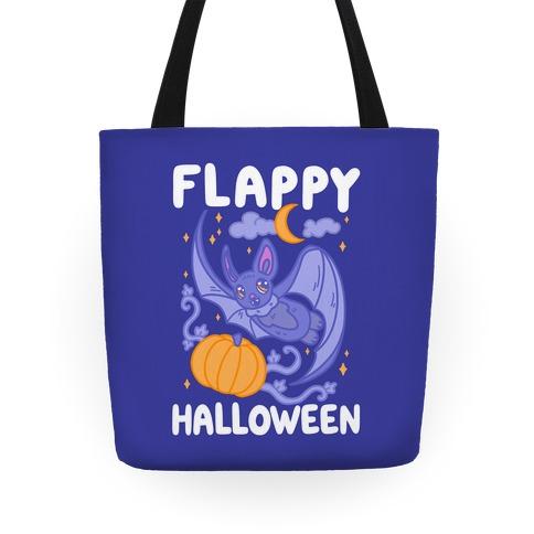 Flappy Halloween Bat Tote