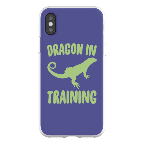 Dragon In Training Phone Flexi-Case