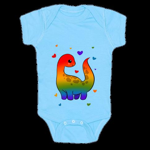Pride-Dino Baby One-Piece