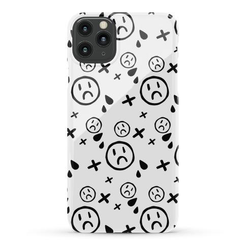 Emo Pattern White Phone Case