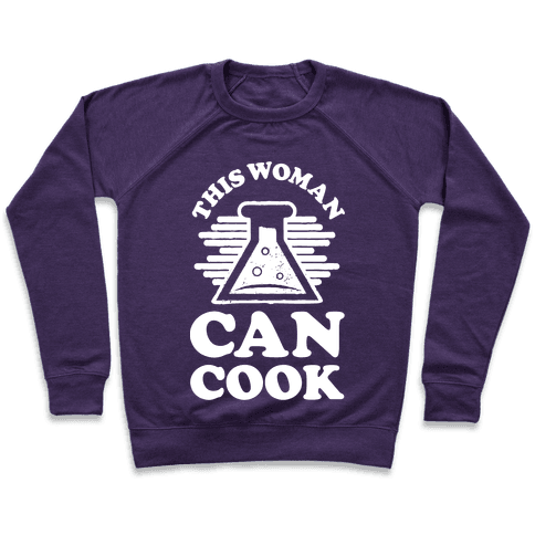 This Woman Knows How To Cook Pullover