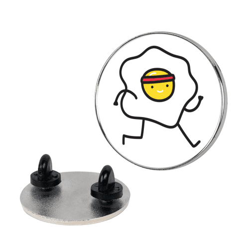 Runny Egg pin