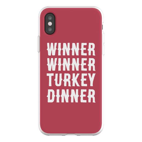 Winner Winner Turkey Dinner Phone Flexi-Case
