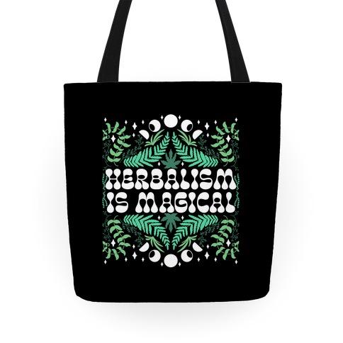 Herbalism Is Magical Tote