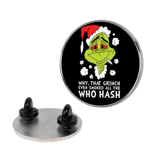 Who Hash pin