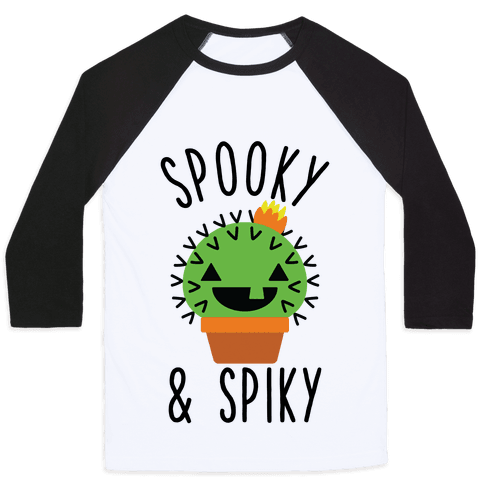 Spooky and Spiky Baseball Tee
