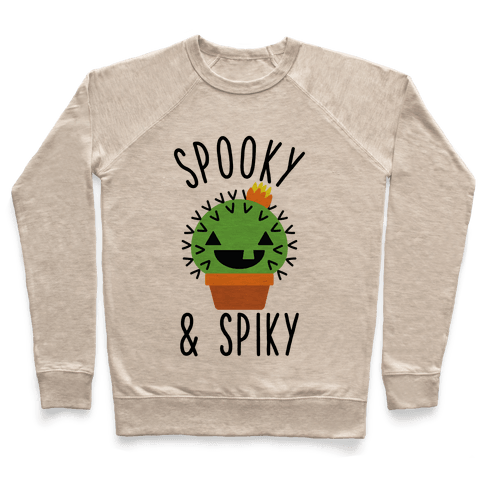Spooky and Spiky Pullover