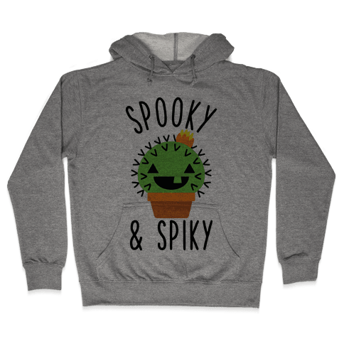 Spooky and Spiky Hooded Sweatshirt