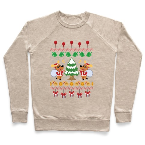 Jingle Animal Crossing Ugly Sweater Pullover