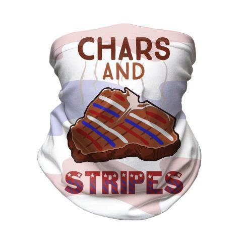 Chars And Stripes Neck Gaiter