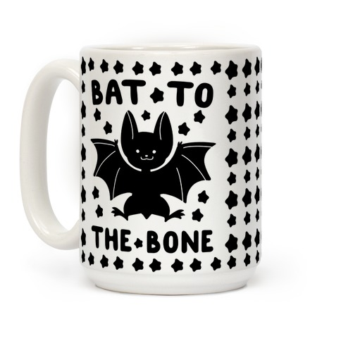 Bat to the Bone Coffee Mug