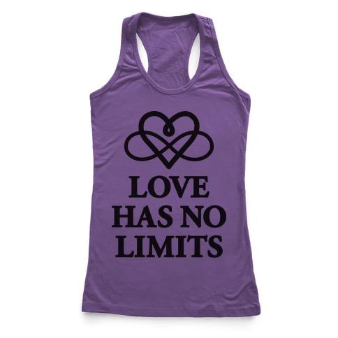 Love Has No Limits Racerback Tank Top