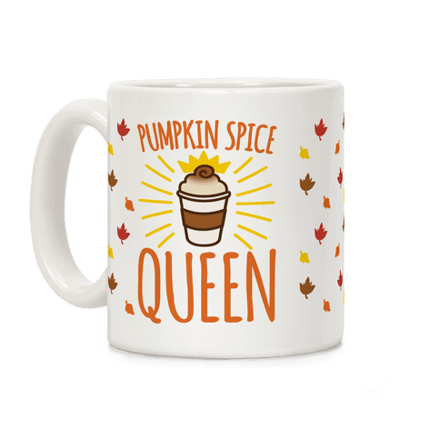 Pumpkin Spice Queen Coffee Mug