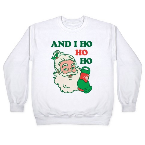 VSCO Santa Parody Pullover