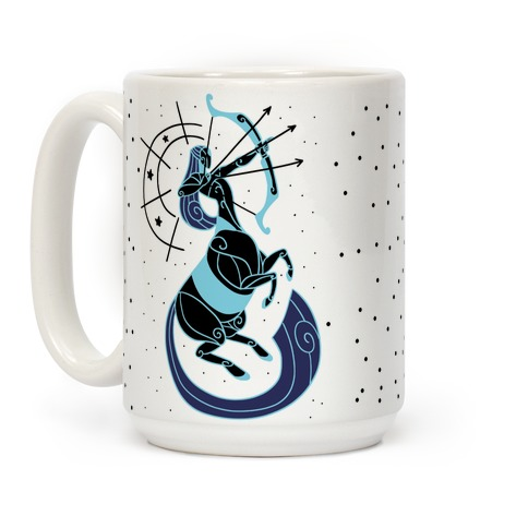 Stylized Sagittarius Coffee Mug