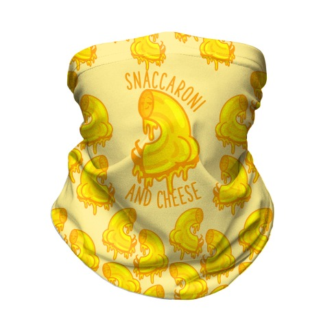Snaccaroni and Cheese Neck Gaiter