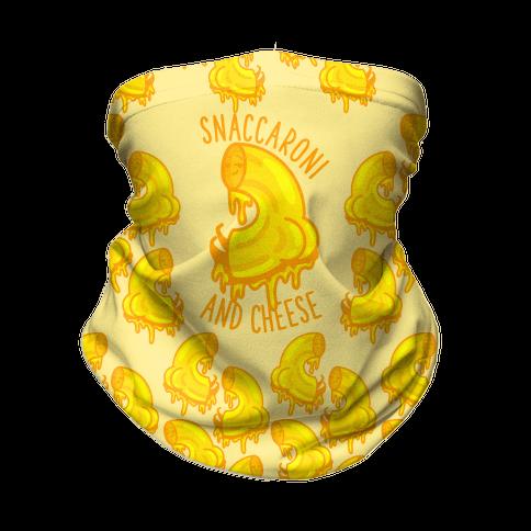 Snaccaroni and Cheese Neck Gaiter