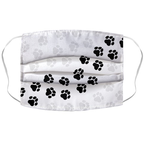 Paw Prints Face Mask Cover