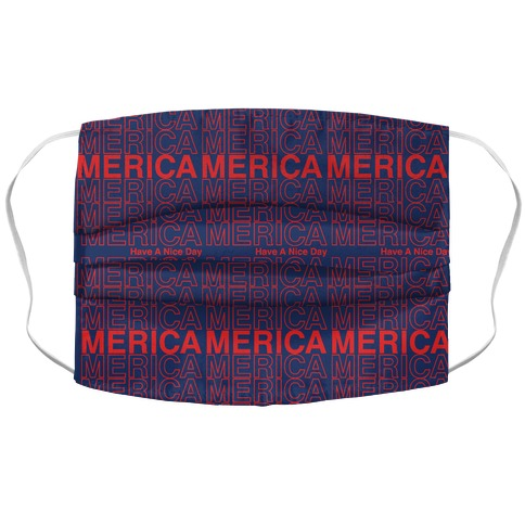 Merica Merica Merica Thank You Have a Nice Day Face Mask Cover