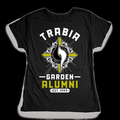 Trabia Garden Alumni Final Fantasy Parody Womens T-Shirt
