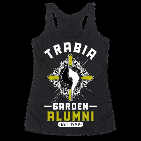Trabia Garden Alumni Final Fantasy Parody Racerback Tank Top