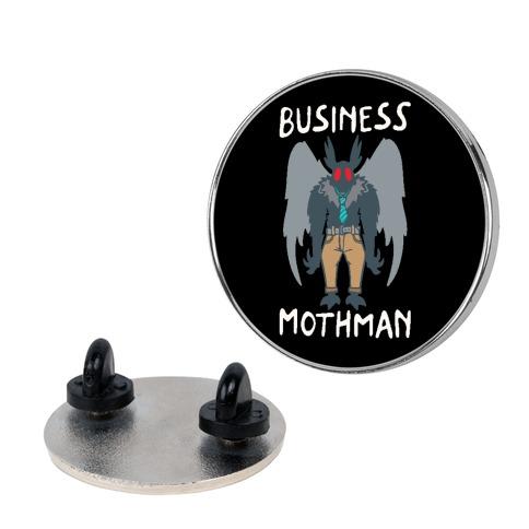 Business Mothman Parody Pin