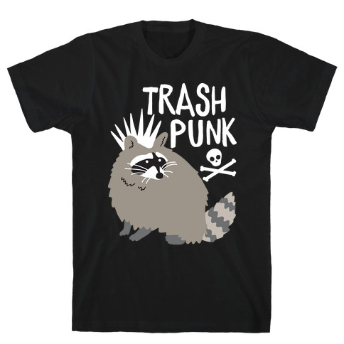 Trash Punk Raccoon T-Shirt
