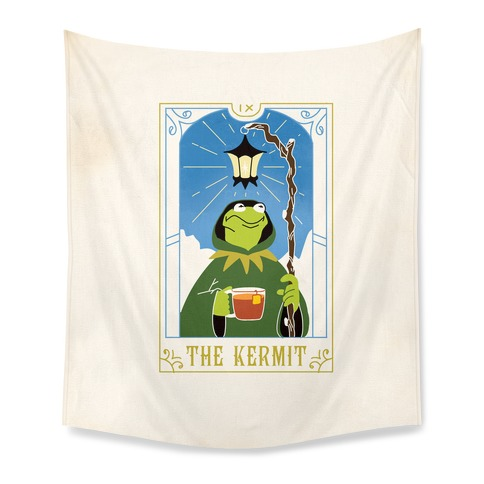 The Kermit Tarot Card Tapestry