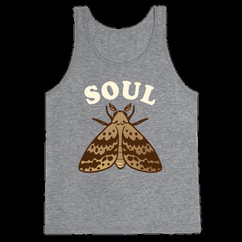Moth & Lamp Soul Mates (1 of 2) Tank Top