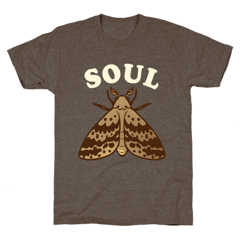 Moth & Lamp Soul Mates (1 of 2) Mens T-Shirt