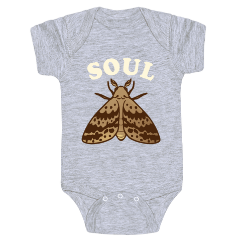 Moth & Lamp Soul Mates (1 of 2) Baby Onesy