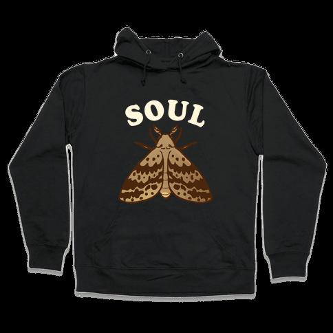 Moth & Lamp Soul Mates (1 of 2) Hooded Sweatshirt