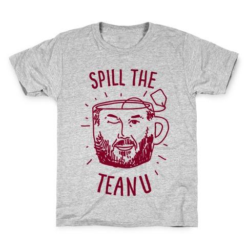 Spill The Teanu Kids T-Shirt
