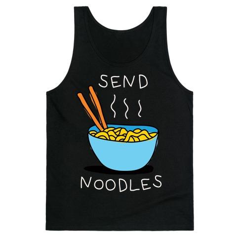 Send Noodles Tank Top