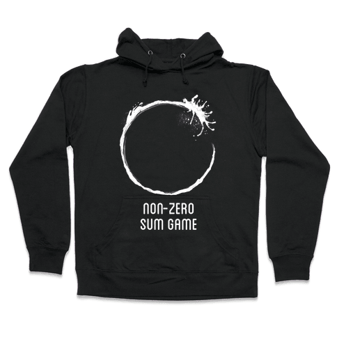 Non-Zero Sum Game Hooded Sweatshirt