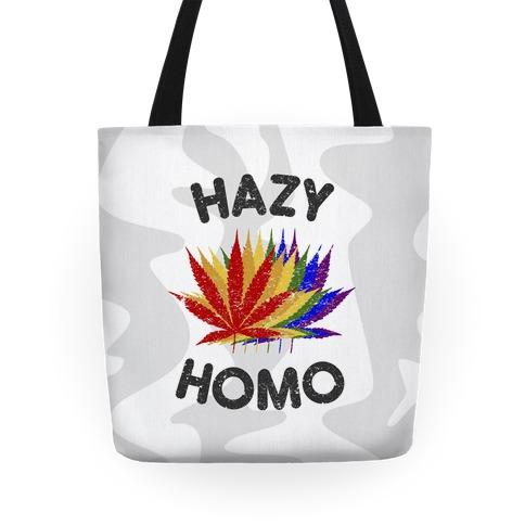 Hazy Homo Tote