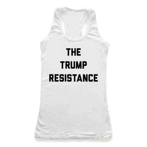 The Trump Resistance Racerback Tank Top